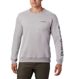 Sweat Columbia Omni-shade - Protection solaire UPF 50, Gris chiné, Tailles S à 2XL