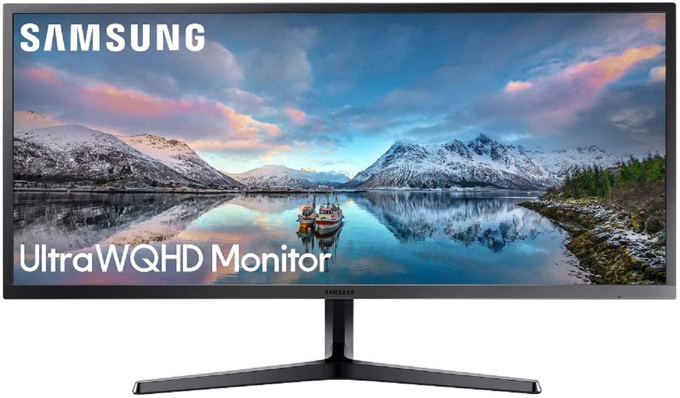 "Ecran PC 34"" Samsung S34J552 - UltraWide, QHD, 4 ms, 75 Hz"