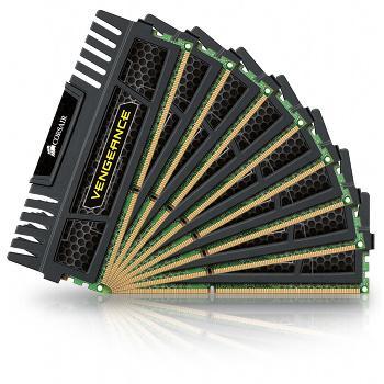 Barrette mémoire Corsair Vengeance 8 x 4 Go DDR3 1600 MHz CAS 9