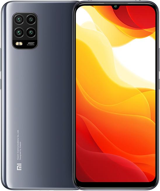"Smartphone 6.57"" Xiaomi Mi 10 Lite 5G - full HD+, AMOLED, SnapDragon 765, 6 Go de RAM, 64 Go, noir, version UK"