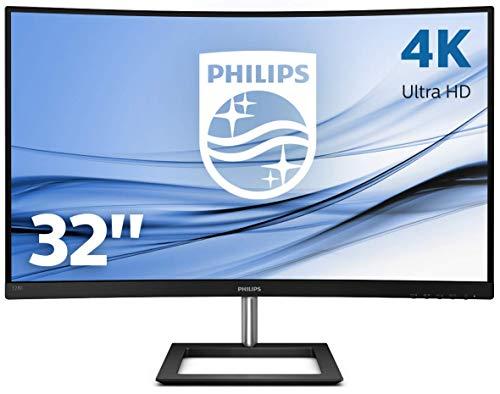 """Ecran PC Incurvé 31.5"""" Philips 328E1CA/00 - UHD 4K UHD, Wide-Color, AdptiveSync, FlickerFree, 4ms"""