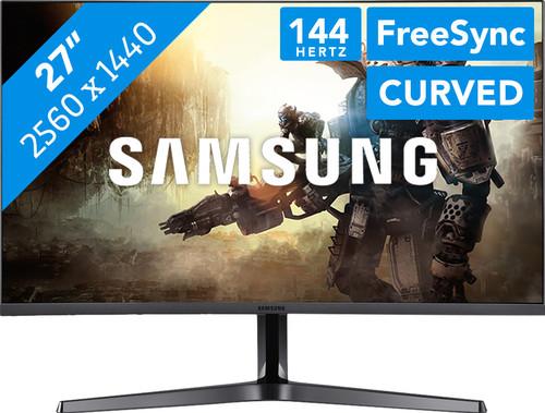 """Écran PC 27"""" Samsung LC27JG56QQUXEN - WQHD, 144Hz FreeSync Incurvé (Frontaliers Belgique)"""