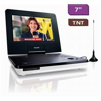 """Lecteur DVD portable 7"""" TNT Philips PD7005"""