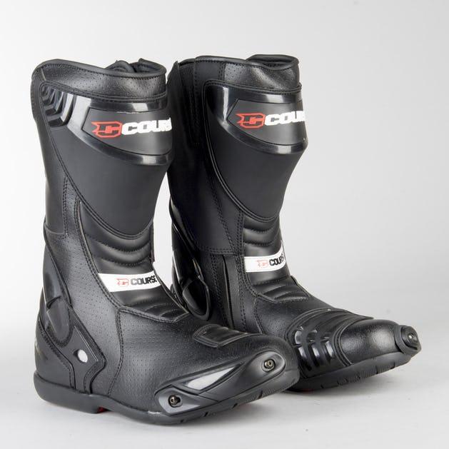 Bottes moto Course Pacer - Noir, Tailles 40 à 46