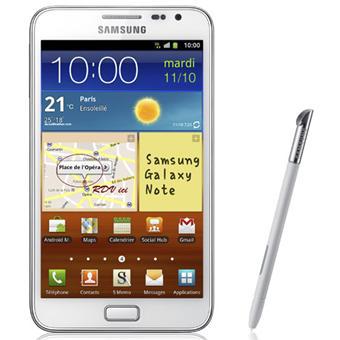 Smartphone Samsung Galaxy Note - Blanc
