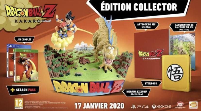 Dragon Ball Z: Karakot Collector's Edition sur PS4