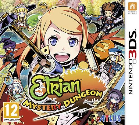 Sélection de jeux Nintendo 3DS en promotion - Ex : Etrian Mystery Dungeon (Dématérialisé)
