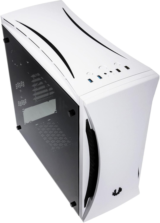 Boitier PC Moyen Tour Bitfenix Aurora White Window Aura Ready