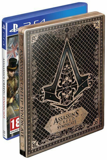 Assassin's Creed : Syndicate + Steelbook sur PS4 (Jeu en anglais uniquement)