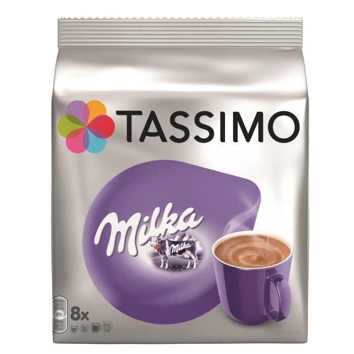 Lot de 40 dosettes Tassimo Milka Chocolat - 5x240g