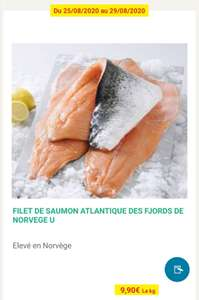 Filet de Saumon Origine Norvège - 1Kg