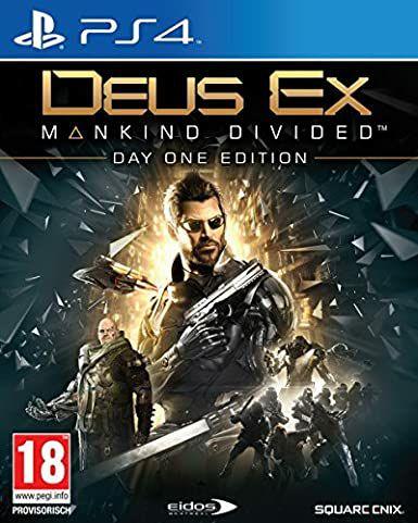 Deus Ex Mankind Divided Day One Edition sur PS4 - Boitier UK / Jeu Fr (Vendeur tiers)