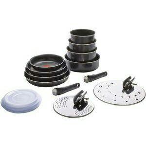 Set de 20 pièces Ingenio Basic noir (tous feux sauf induction)