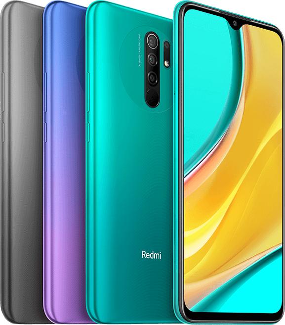 "Smartphone 6.53"" Xiaomi Redmi 9 (Global B20 - Sans NFC) - Full HD+, Helio G80, RAM 4 Go, 64 Go, 5020 mAh (92.96€ avec 10AEFR828)"