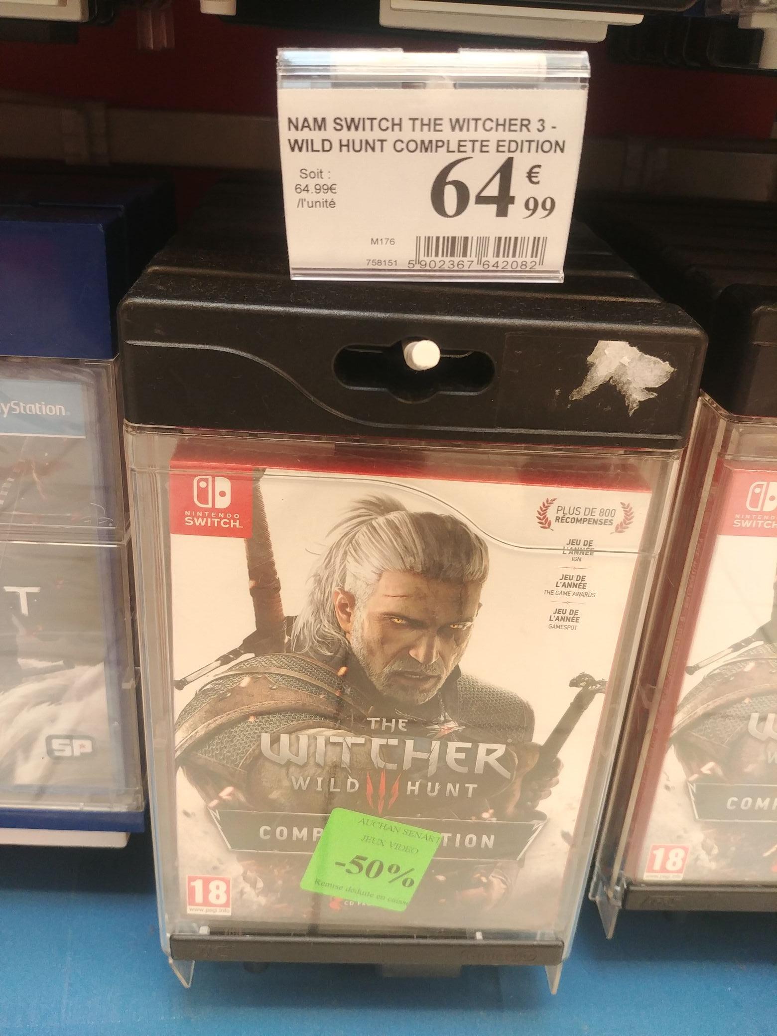 The Witcher 3 : Wild Hunt - Édition Complete sur Switch - Cesson (77)