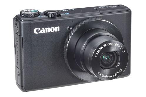 Appareil photo Canon Powershot S110 Wifi intégré - Noir ou Blanc