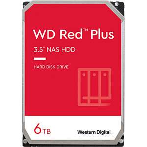 "Disque dur NAS 3.5"" Western Digital WD Red (WD60EFRX) - 6 To"