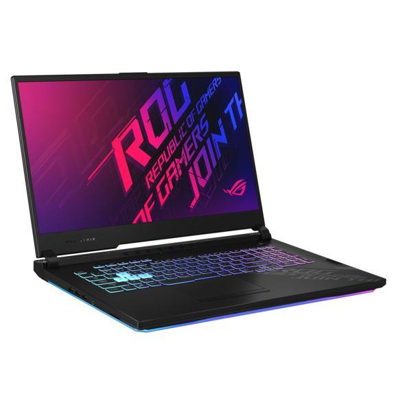 "PC Portable 17.3"" Asus ROG Strix G17 G712LU-H7009T - Full HD 120 Hz, i7-10750H, 16 Go RAM, 1 To SSD, GTX 1660 Ti, Windows 10"