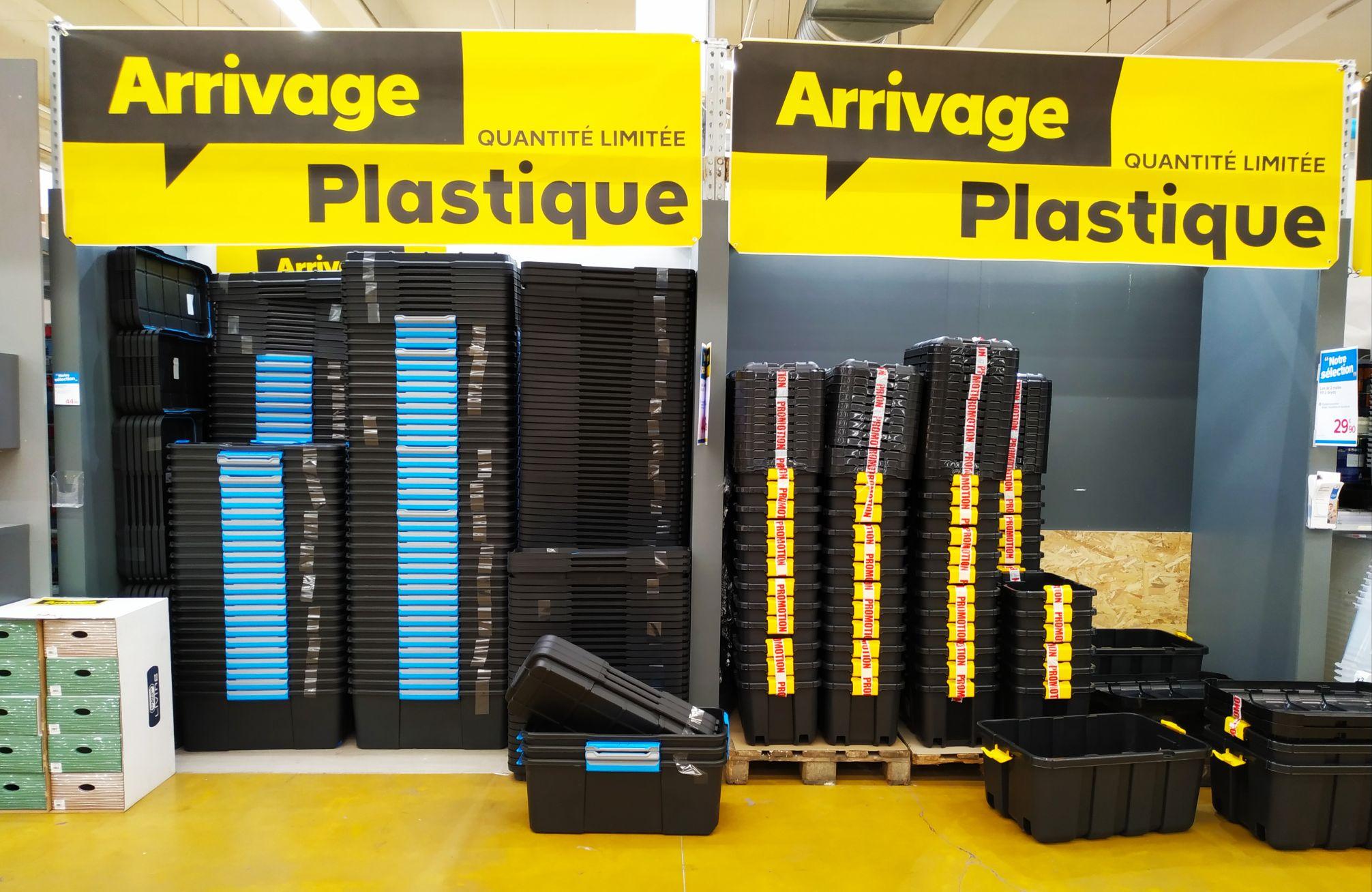 Sélection de Malles en plastique - Ex : Lot de 2 malles Skyda (111L) - Le Cannet (06)