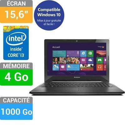 """PC Portable 15.6"""" Lenovo G50-70 (59412003) - i3 4010U, RAM 4 Go, HDD 1 To"""