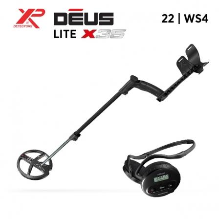 Détecteur de métaux XP Deus Lite X35 - maisondeladetection.com