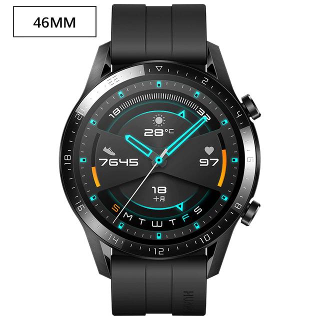 Montre connectée Huawei Watch GT 2 - 46mm, Sport Noir (Entrepôt France - 111.39€ via code FES10)
