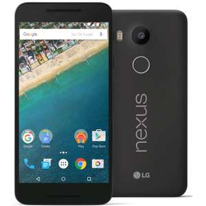 "Smartphone 5.2"" LG Nexus 5X - 16 Go Carbone  (+ Jusqu'à 87,49€ de Super Points)"