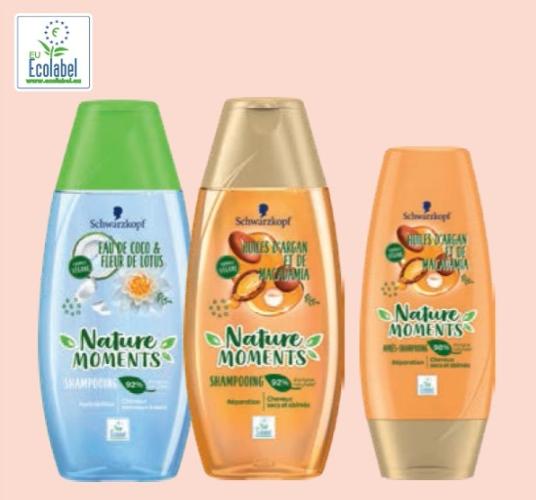Deux Shampooings ou après shampooings Schwarzkopf Nature Moments (via Shopmium)
