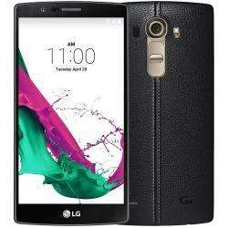 "Smartphone 5,5"" LG G4 - 32 Go, Cuir noir"