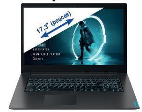 """PC portable 17.3"""" full HD Lenovo IdeaPad L340-17 - i5-9300H, GTX-1050 (3 Go), 8 Go de RAM, 512 Go en SSD, Windows 10"""
