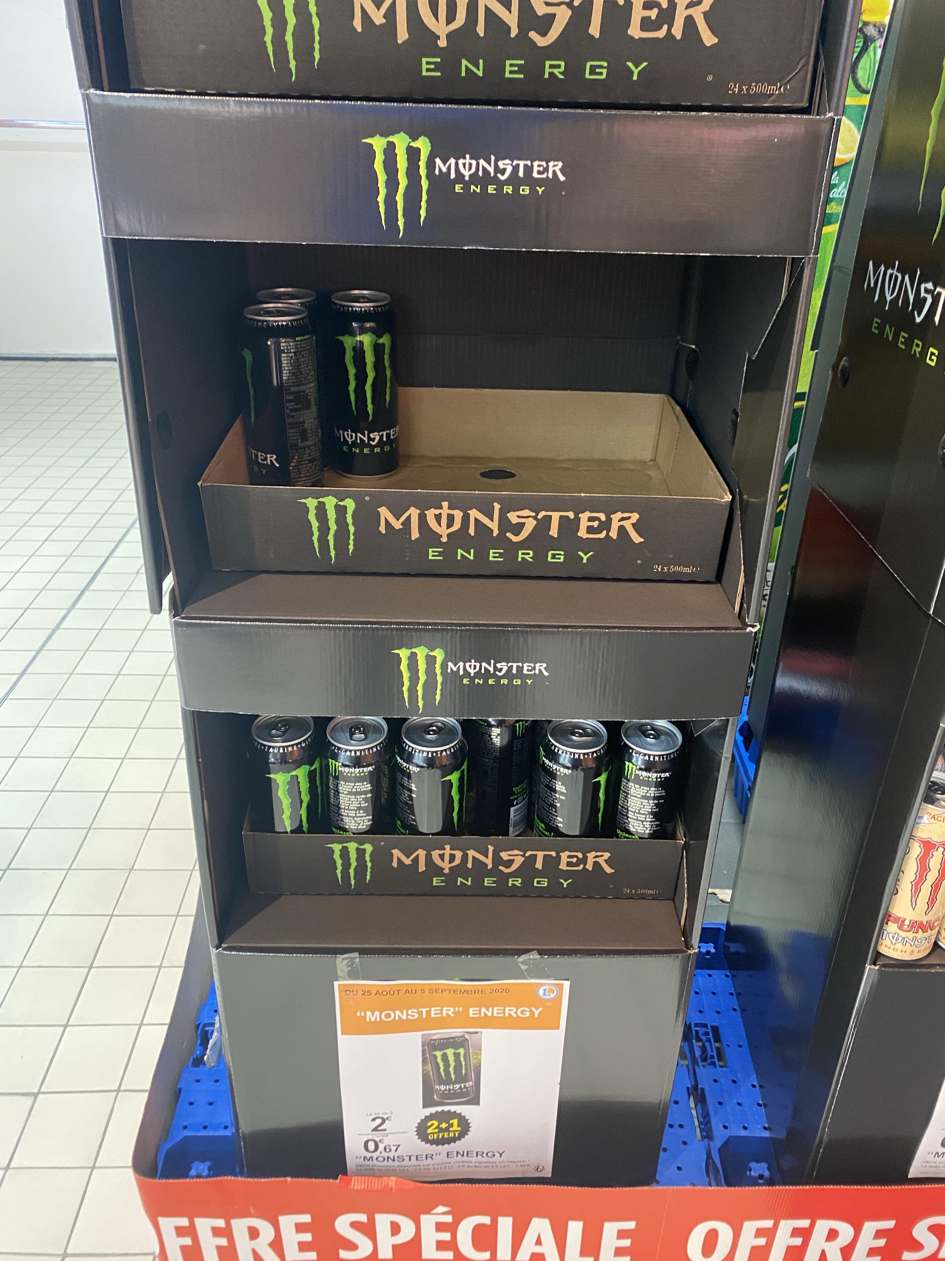 3 Boissons énergisantes Monster Energy - Olivet (45)