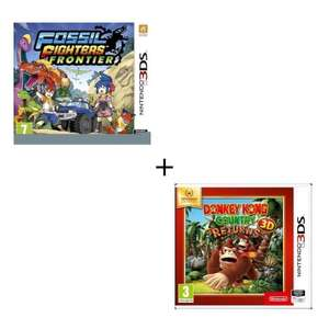 Pack Fossil Fighters + Donkey Kong Country Returns sur Nintendo 3DS