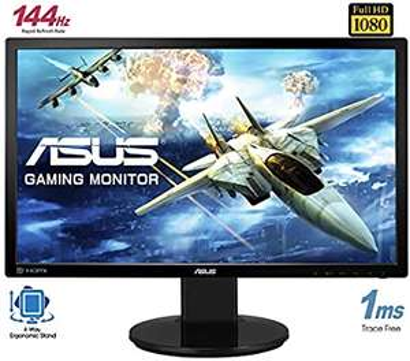 "Écran PC 24"" Asus VG248QE - FullHD, 144Hz,1ms, TN, 3d, FreeSync"
