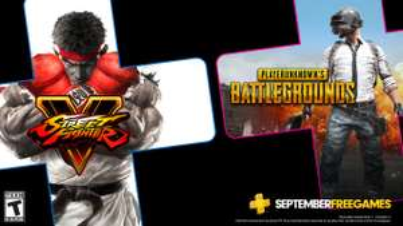 [Abonnés PS+] Street Fighter V et PlayerUnknown's Battlegrounds (PUBG) offerts en Septembre sur PS4 (dématérialisés)
