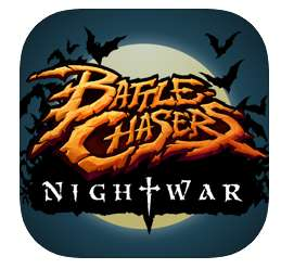 Application Battle Chasers: Nightwar sur iOS