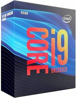 Processeur Intel i9-9900k - 8-core, 3,6Ghz, Coffee Lake LGA 1151, 16 Mo