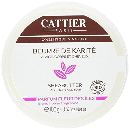 Pot de Beurre de Karité Cattier Parfum Fleur des Iles - 100 g (via coupon premier abonnement)