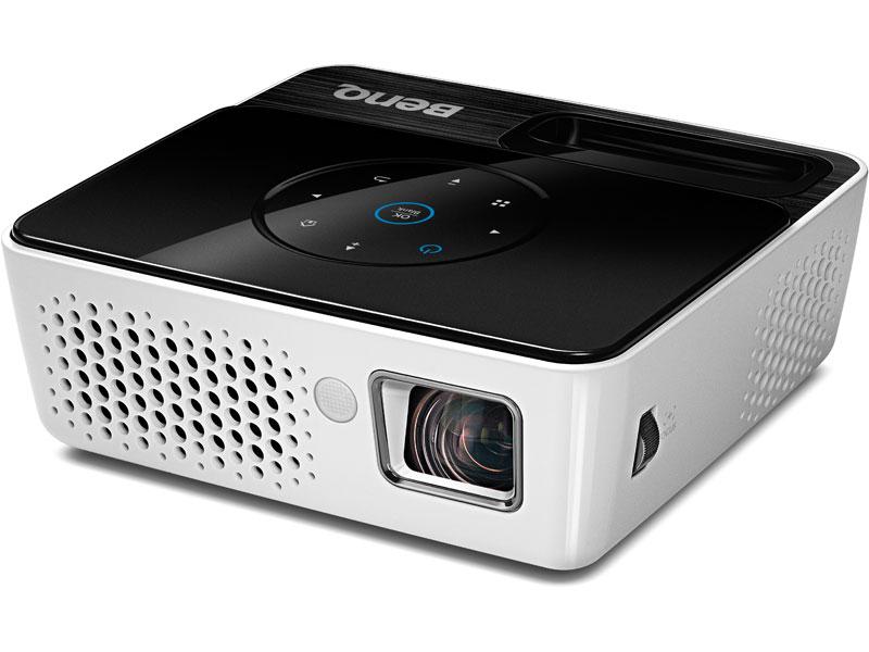 Mini Vidéoprojecteur Benq GP2 DLP WXGA Compatible iPhone/iPod - 200 ANSI lumens - Contraste: 2400:1