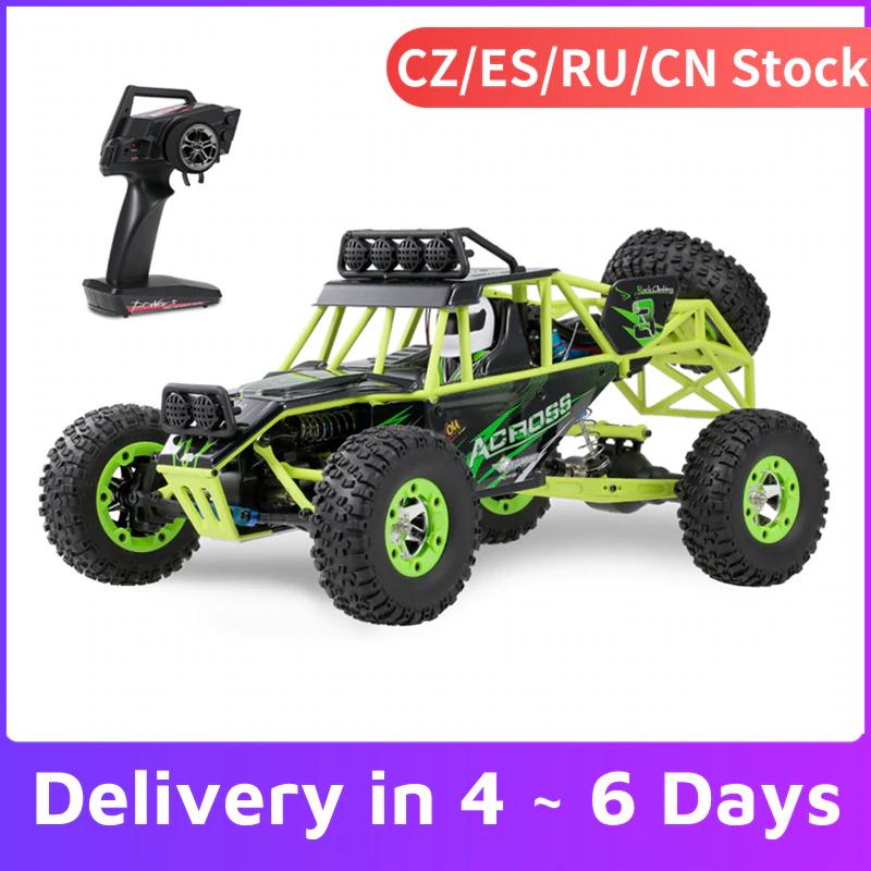 Voiture électrique WLtoys Buggy 12428 1/12 RC - 2.4G, 4WD, 50 km/h