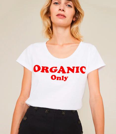 30% de réduction sur une sélection d'articles - Ex : T-shirt en coton bio