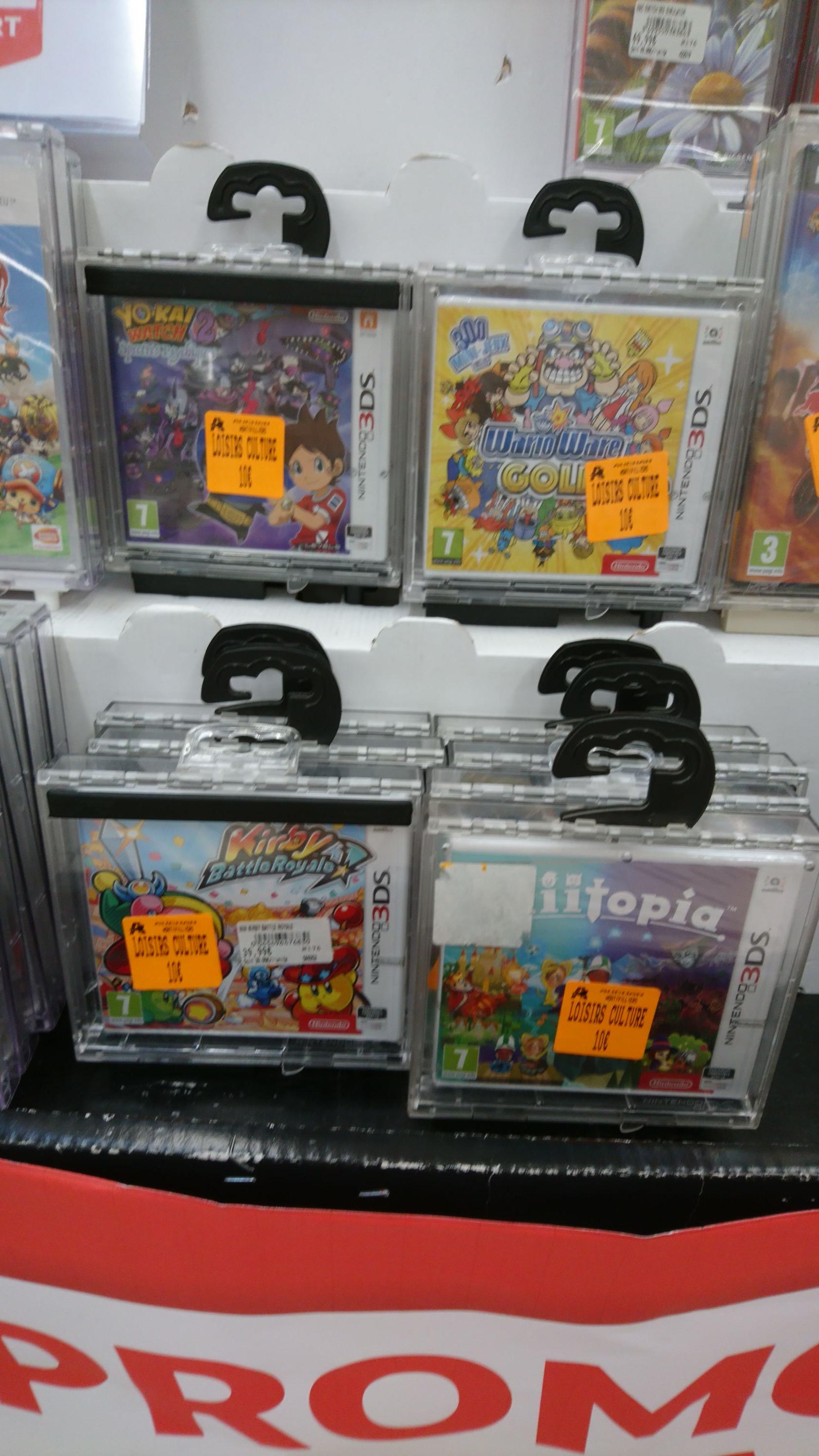 Sélection de jeux Nintendo 3DS en promotion - Ex : Yoshi's Woolly World (Montivilliers - 76)