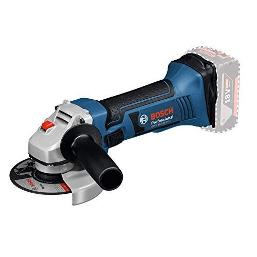 Meuleuse Angulaire Sans Fil Bosch Professional 060193A307 GWS 18-125 V-LI Solo (18 V, (Sans Batterie)