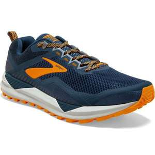Paire de chaussures de trail Brooks Cascadia 14 - Orange, 2020 (chullanka.com)