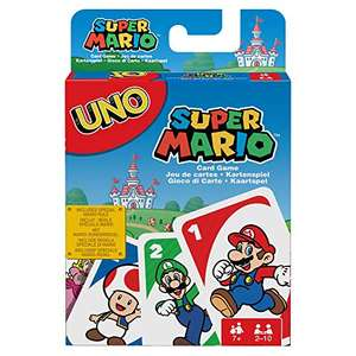 Jeu de société Mattel Uno Super Mario Bros.