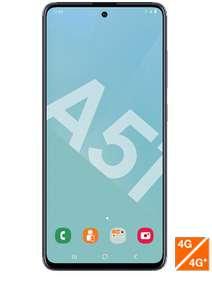 "[Clients Orange / Sosh] Smartphone 6.5"" Samsung Galaxy A51 - full HD+, Exynos 9611, 4 Go de RAM, 128 Go, 4G+, noir (via ODR de 50€)"