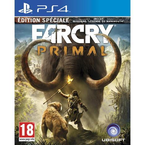 Précommande : Far Cry Primal sur PS4 et Xbox One édition spéciale  (avec 10€ sur la carte et ODR de 5€) et en magasin