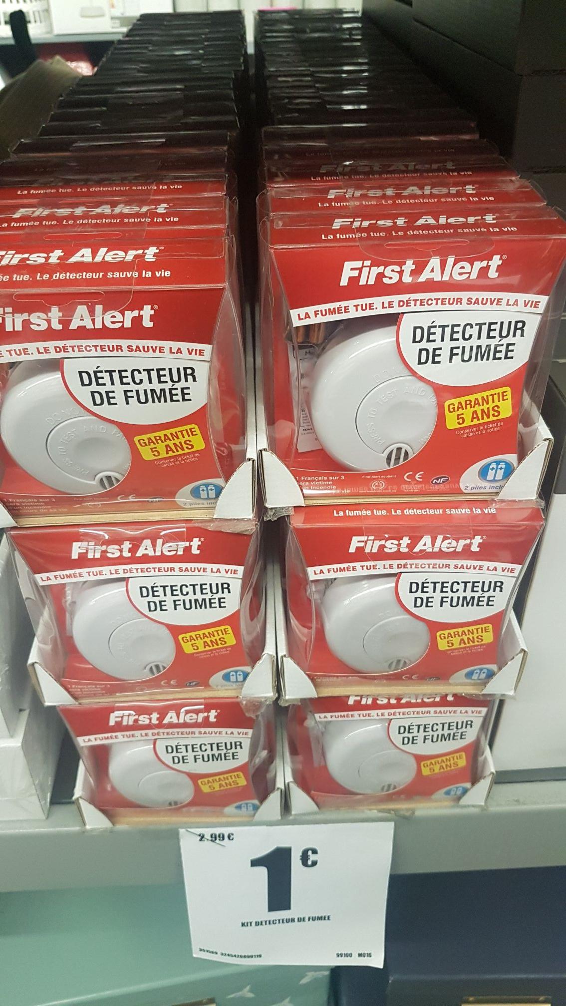 Détecteur de fumées First Alert - Colomiers (31)