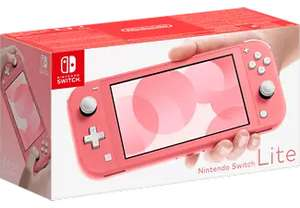 Console portable Nintendo Switch Lite - Corail (Frontaliers Suisse)
