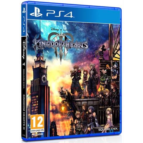 Jeu Kingdom Hearts 3 sur PS4 (Retrait magasin uniquement)