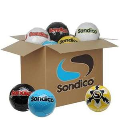 Lot de 28 Ballons de football entraînement Sondico